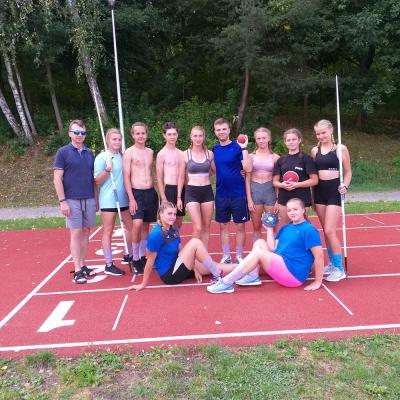 Obóz  sportowy- Olsztyn 2020