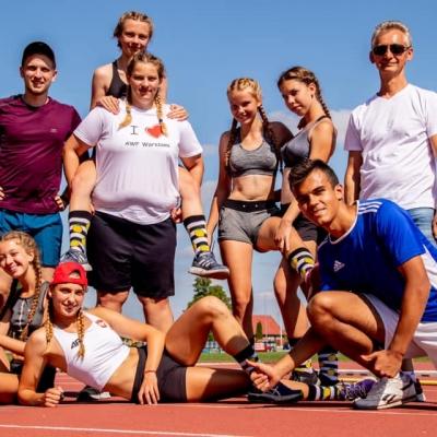 Obóz sportowy w Suwałkach 2019